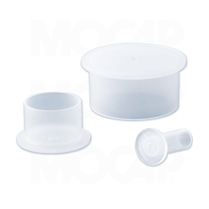 Flanged Plastic Caps for Standard Straight Threads